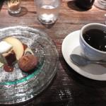 45144447 - デザートとコーヒー