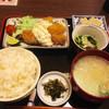 味どころ 撰 - 料理写真:マグロの一口カツ定食(*´д`*)800円
