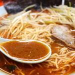 ネギいちラーメン - ほんのり辛く甘めで素朴な味噌スープ