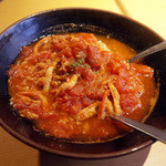らるきい - ズワイガニと完熟トマトのパスタ(1836円)