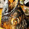 魚撃 - 料理写真:マグロカブト焼き H30cm