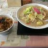 ジュン - 料理写真:ちゃんぽん&ミニ豚丼セット