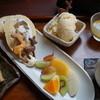 和みカフェ うたたねバンビ - 料理写真:ぶどうのロールケーキ