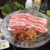 ゴールデンタイムス - 料理写真:福岡初水晶サムギョプサル