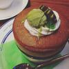 ナッツベリー - 料理写真:抹茶スフレ