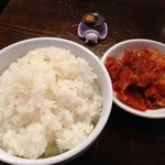 神山 - 料理写真:H.27.12.5.昼 終日セットメニューA ご飯・ミニキムチ +200円