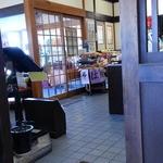 サガミ - 入口付近の販促コーナー