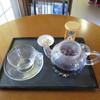 鎌倉山茶房 - ドリンク写真:マローブルー