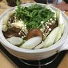 鳥しげ - 料理写真:【2015.12月追加】要予約の鶏つくね鍋(650円)※三人前です