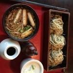 茶の子 - 鴨つけそば。茶の子(愛知県岡崎市)食彩品館.jp撮影