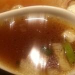 麺屋武蔵 二天 - スープアップ