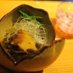 鎌倉山倶楽部 - 蝦夷あわび 今日のNO1! すこしバターの風味がします