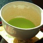 鎌倉山倶楽部 - ドリンクはお抹茶をえらびました