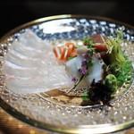 鎌倉山倶楽部 - 造り 平目 蛸 鮪