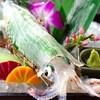 博多魚がし 海の路 - 料理写真:1万人気 呼子ヤリイカの活き造り