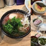横浜家系 侍 - 一昨日の締めは、変わらずのラーメン 家そばにる家系ラーメンです。 いつもは、ラーメンを頼むのですがつけ麺を注文 変わり種のエビつけ麺です。 つけ汁と麺の上に海老の粉末がたっぷり 海老の風味がなかなかです。 ライスもつけちゃった これで880円は納得かも ご馳走様でした。