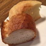 ビストロ オララ - ランチ付属のパン2015年12月