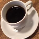 ビストロ オララ - ランチ付属のコーヒー2015年12月