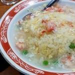 中華料理 華宴 - カニ肉あんかけチャーハン880円