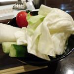 創作串揚 つだ - 野菜スティック(お代わり自由)