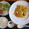 煌庵 - 料理写真:海老チャーハン定食(900円)