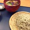 玄蕎麦河童 - 料理写真:鴨せいろ(国産鴨) 十割蕎麦 1,700円+大盛り 300円