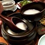 韓国料理 水刺齋 - マッコリ(飲み放題)