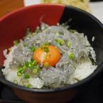 大洗町漁協 かあちゃんの店 - 料理写真:しらす丼~☆