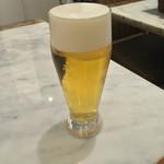 ピッツェリア チーロ - 生ビール(470円)+8%