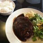 洋食屋キッチンKAZU - 高円寺、洋食ハンバーグ