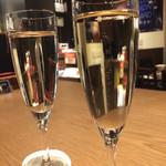 グラン ポレール ワインバー トーキョー - 山梨県産甲州スパークリング600円