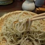 蕎麦見世のあみ - ☆お塩でズルズルゥー(^O^)☆