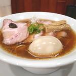 Japanese Soba Noodles 蔦 - 焼豚味玉醤油そば
