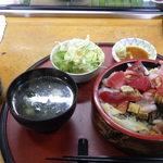 鮨源 - 海鮮あられ1100円