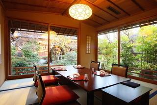 東京 芝 とうふ屋うかい - 個室