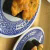 無添くら寿司 - 料理写真:ウニ入り海鮮軍艦、サーモン軍艦