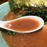家系ラーメン 桂家 - 濃厚スープ