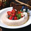 ワールド・ワールド・バッフェ - 料理写真:苺とカスタードのレアチーズケーキ