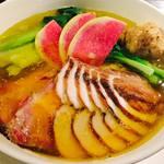 龍馬軒 - 鶏塩麺