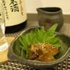 ばんばそば - 料理写真:あん肝のそばかえし漬け、悦凱陣 KU16純米無濾過生