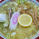 楓林 - 料理写真:塩ラーメン:670円/2015年12月