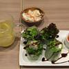Gasse - 料理写真:生春巻きとホットレモネード♬