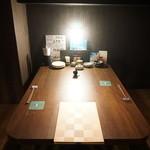 温炊き さんずい - 落ち着いた半個室