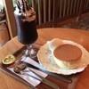 珈琲豆や とむとむ - 料理写真:ホットケーキとモカジャバ