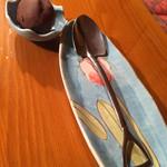 3丁目のカレー屋さん  - プチシュークリーム & スコップ型スプーン