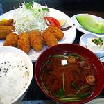 串よし - 11月カキフライ定食¥980