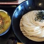 荒木伝次郎 - 牡蠣塩バターつけ麺