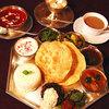 ダルマサーガラ - 料理写真:Meals A-set Vegetarian