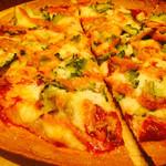 あーぐうる - ゴーヤと明太子のピザ 1000円