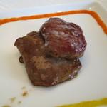 45366965 - 牛フィレ肉と舞茸の炒め